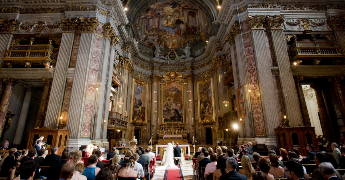 Wedding in Rome