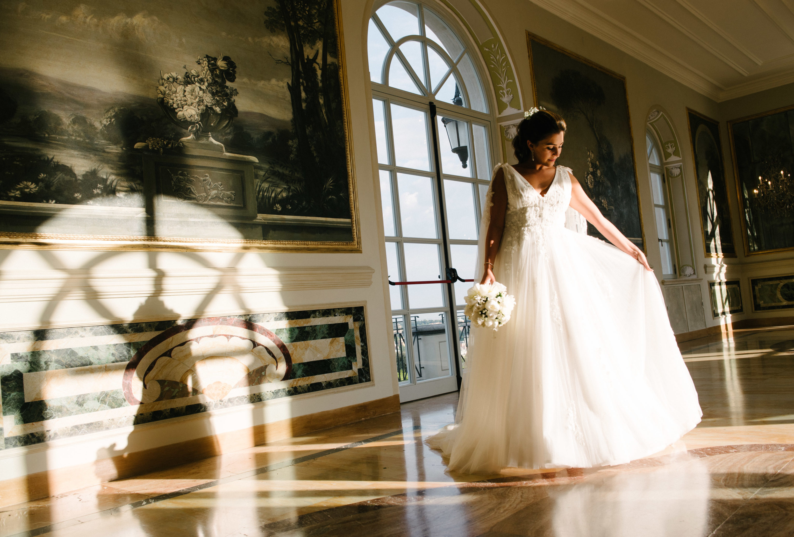 A Lebanese wedding in Rome at Villa Miani