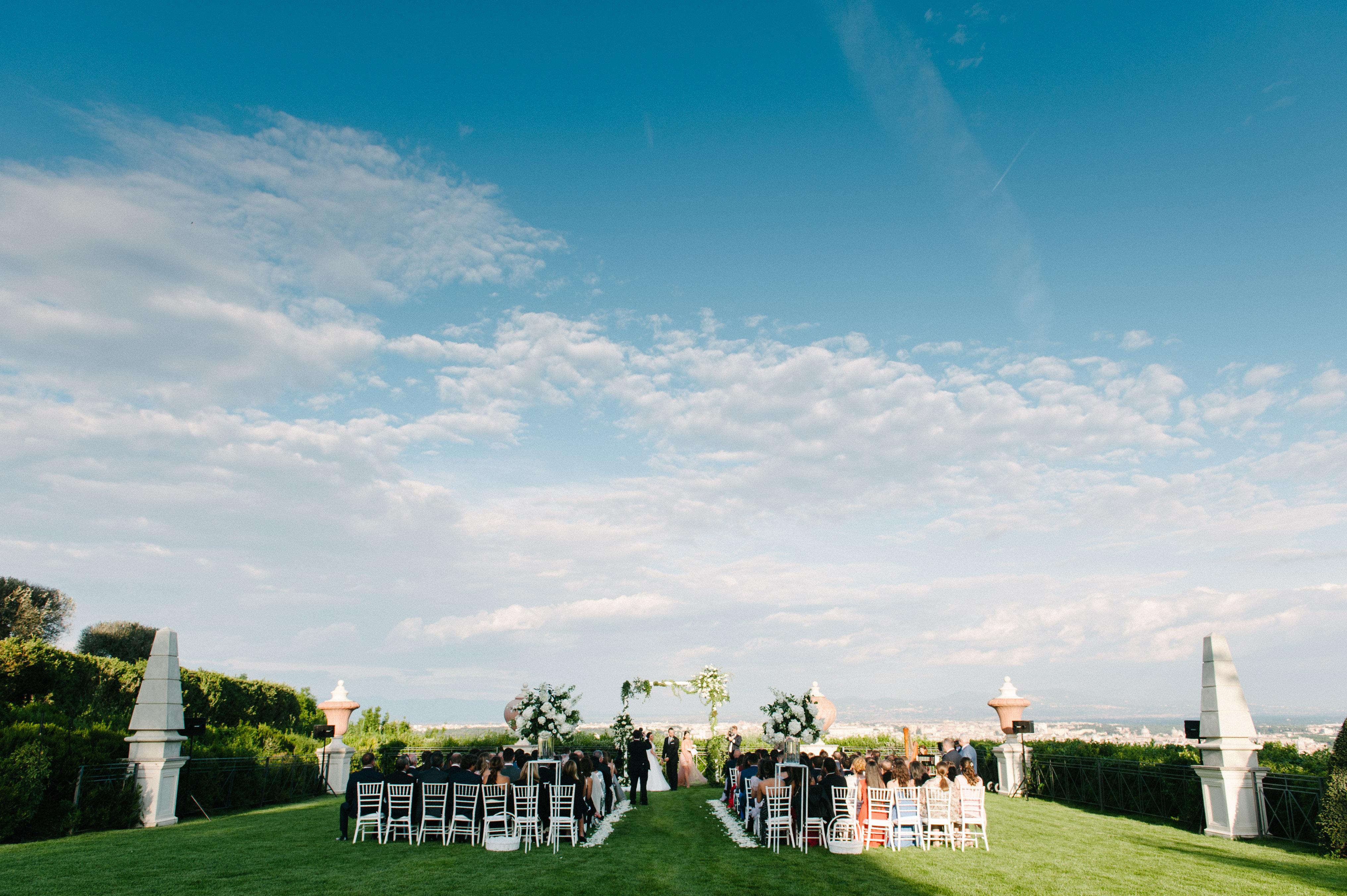 A Lebanese wedding in Rome at Villa Miani