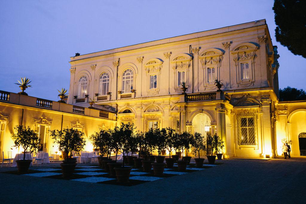 The top 5 wedding reception venues in Rome: Villa Aurelia