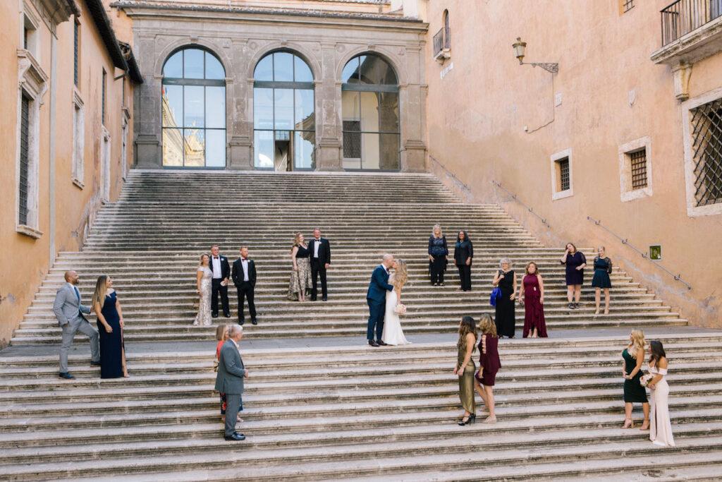 Small wedding Rome