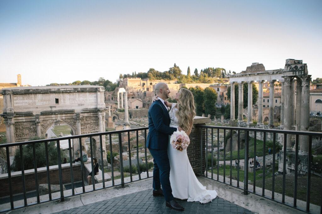 Wedding photoshoot Rome
