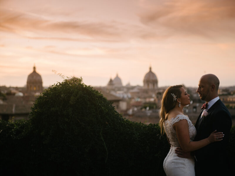 Intimate wedding Rome
