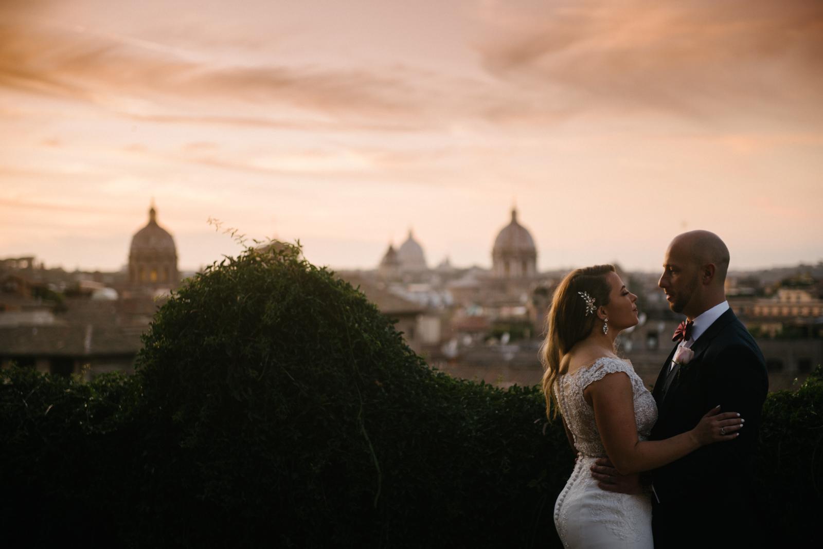 Intimate wedding Rome